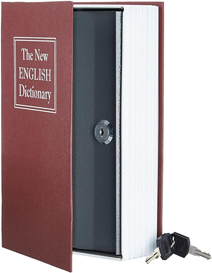 Caja fuerte AmazonBasics libro