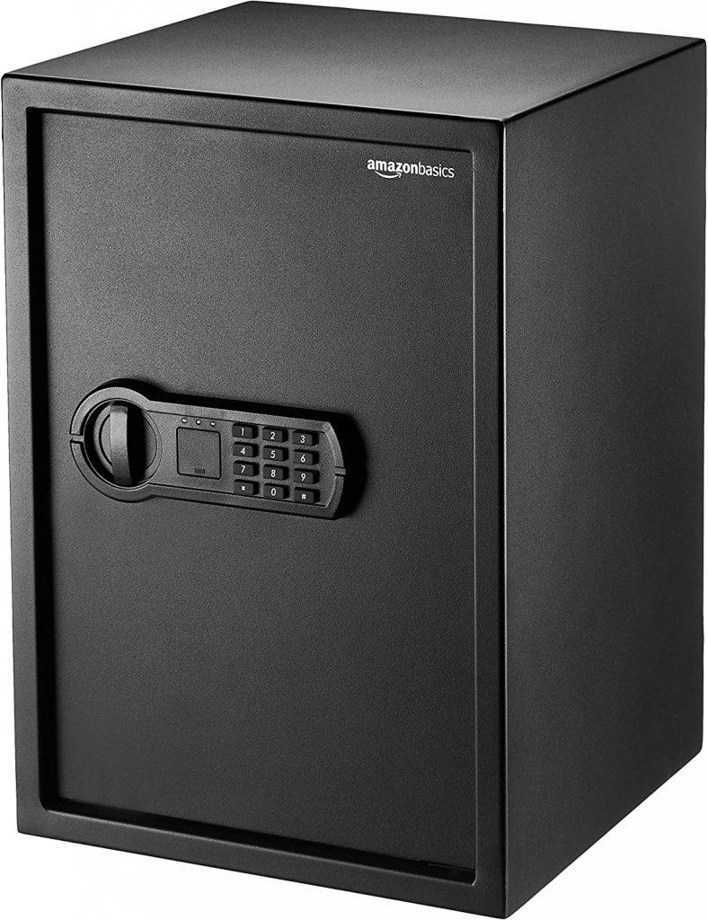 Caja fuerte Amazon Basics (50L)